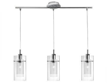 bar pendant lighting. Searchlight Duo 3 Light Bar Pendant Ceiling Light, Polished Chrome Finish - 3303-3CC Lighting