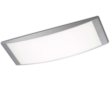 Leds C4 Alpen (720mm x 270mm) Ceiling Light, Grey With Opal Diffuser - 331-GR