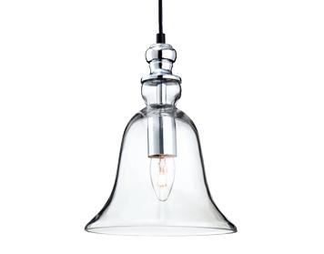 Firstlight Omar Single Light Ceiling Bell Shaped Pendant