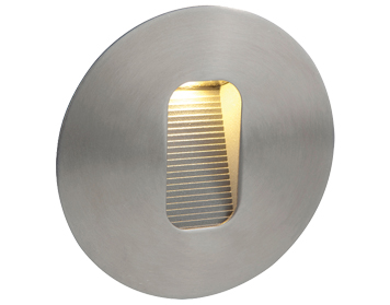 Firstlight Cree LED Wall & Step Single Light, Stainless Steel Finish - 3419ST