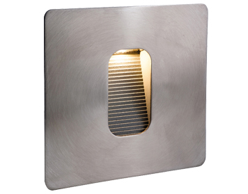 Firstlight Cree LED Wall & Step Single Light, Stainless Steel Finish - 3420ST