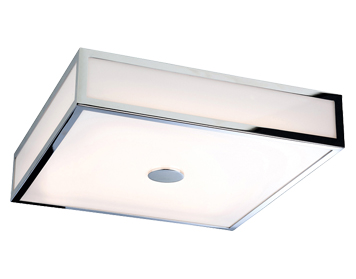 Firstlight Aruba LED Flush Ceiling Light, Chrome Finish With Polycarbonate Diffuser - 3463CH