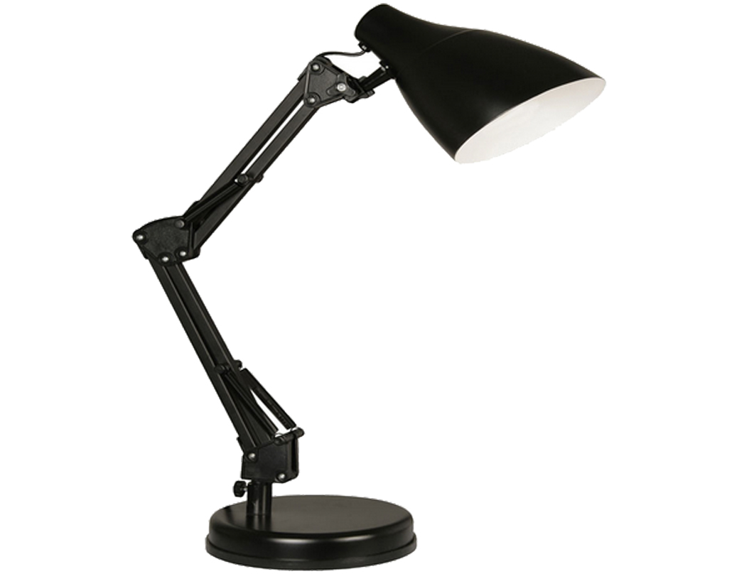 Oaks Lighting Draven Table Lamp, Black - 3920 TL BK