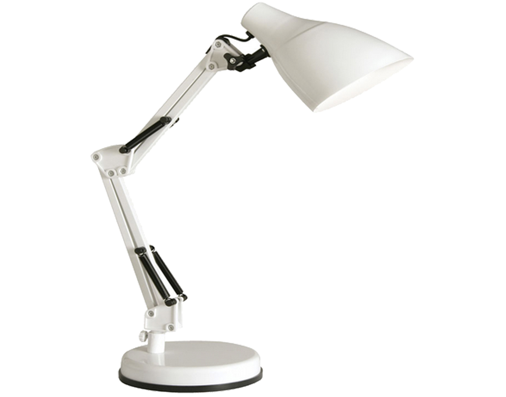 Oaks Lighting Draven Table Lamp, White - 3920 TL WH