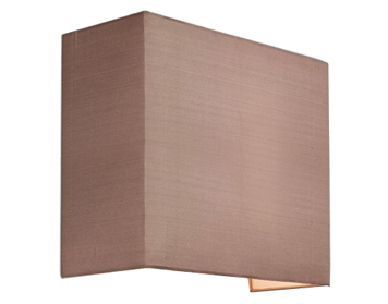 Astro Chuo 250 Square Shade, Oyster Finish - 4128
