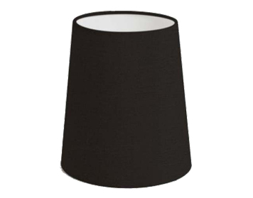 Astro Cone 160 Shade, Black Fabric Finish - 4139