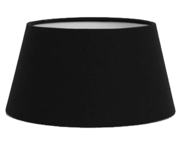 Astro Tapered Drum 90 Shade, Black Fabric Finish - 4150