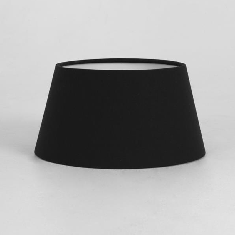 Astro 'Tapered Drum 135' Shade, Black Fabric - 4150