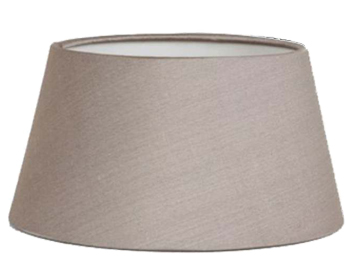 Astro Tapered Drum 90 Shade, Oyster Fabric Finish - 4151