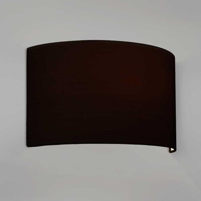 Astro tate ip20 wall light bronze 7253 from easy lighting astro lima shade black fabric 4136 aloadofball Images