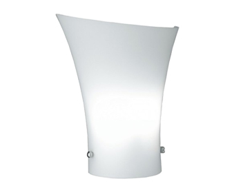 Wofi Zibo 1 Light Wall Light, White Finish - 4172.01.06.0000