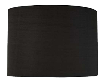 Astro Drum 200 Shade, Black Fabric Finish - 4175