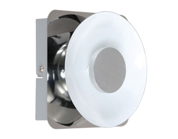 Wofi Space 1 Light LED Wall Light, Chrome Finish - 4216.01.01.0000
