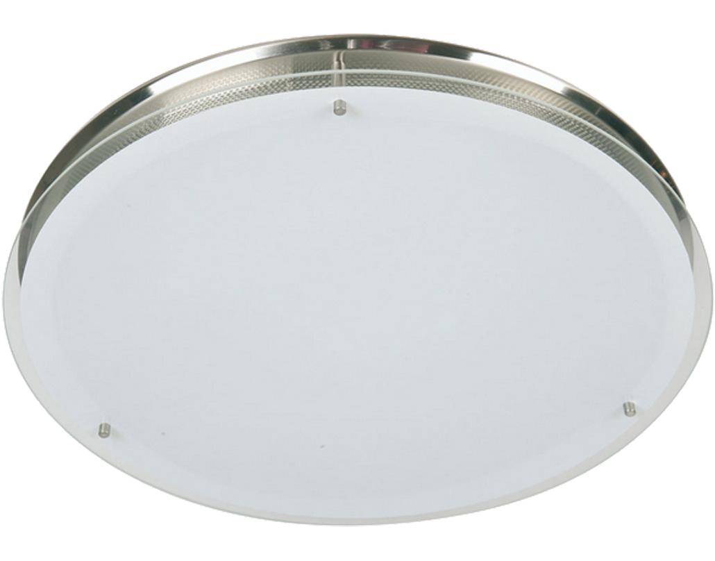 Flush ceiling lights single from easy lighting oaks lighting halo large flush ceiling light satin chrome 4250 lg aloadofball Choice Image