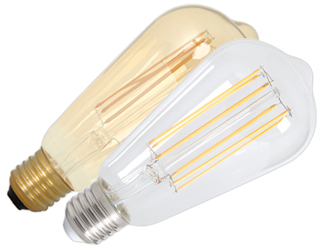 Calex 4W LED Dimmable Vintage Lamp - CLEAR