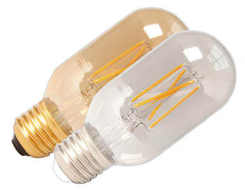 4W E27 LED Dimmable Rustic Filament - GOLD