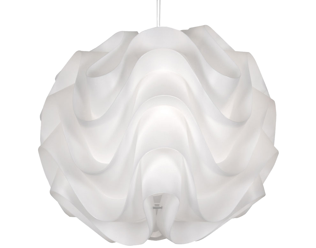 Oaks Lighting 'Akari' Non-Electric Ceiling Pendant, White - 430 WH