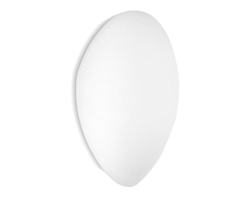 Leds C4 Glass Wall Light, Opal White Finish - 444-BL