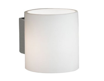 Wofi Aqaba 1 Light Wall Light, Matt Nickel - SALE-4451.01.64.0000