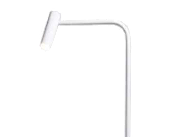 Astro Enna LED Floor Lamp, Matt White Finish - 4569