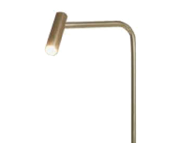 Astro Enna LED Floor Lamp, Matt Gold Finish - 4571