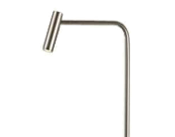 Astro Enna LED Floor Lamp, Matt Nickel Finish - 4579