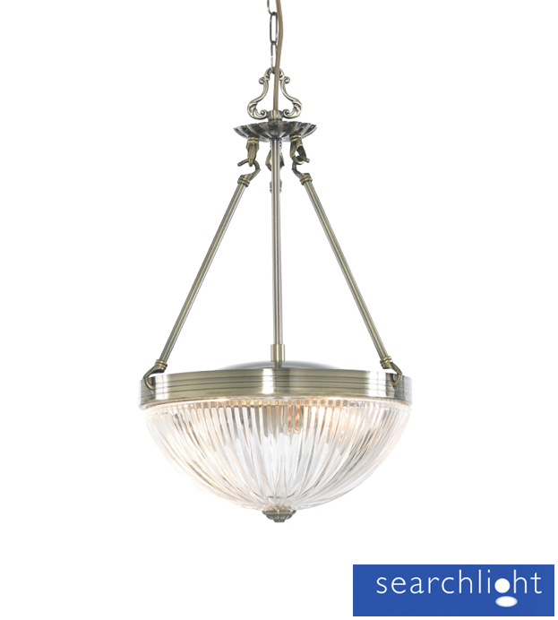 Searchlight Windsor Ii 2 Light Ceiling Pendant Light