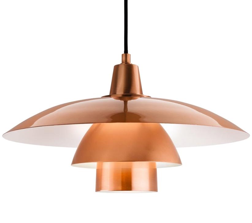 easy lighting.  Lighting Firstlight Olsen Scandinavian Style Ceiling Pendant Light Brushed Copper  Finish  4853CP Intended Easy Lighting