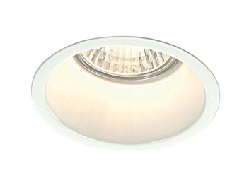 Endon Peake 50W Recessed Ceiling Downlight, Gloss White Paint Finish - 48869