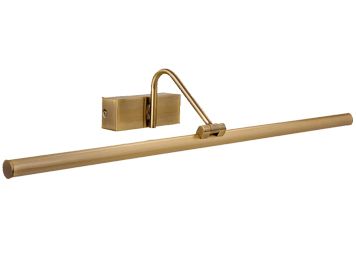 Firstlight 12w LED Picture Light, Antique Brass - 4895AB