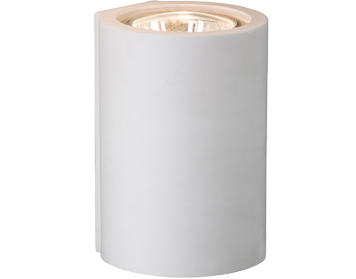 Firstlight Wells 1 Light Plaster Wall Light, White - 4899