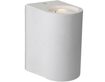 Firstlight Carlos 2 Light LED Plaster Wall Light, White - 4901