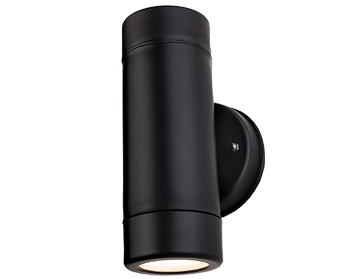 Firstlight Ravel 2 Light Wall Light, Black Resin Finish - 4904BK