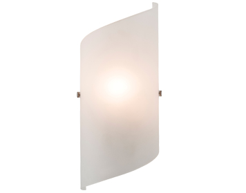 Firstlight Torino 1 Light Wall Light, Frosted Glass Finish - 4911