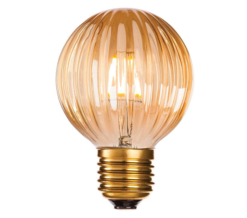 Firstlight 4W LED E27 Fitting Decorative Light Bulb Amber Glass - 4916 From Easy Lighting