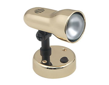 Oaks Lighting Tone Switched Spotlight, Gold Finish - 5011GD
