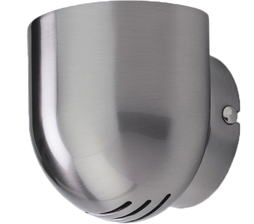 Firstlight Gino Wall Light, Brushed Steel Finish - 5070BS None