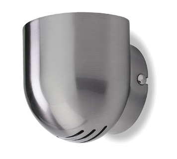 Firstlight 'Gino' Wall Light, Brushed Steel - 5070BS