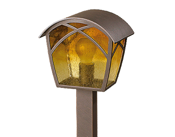 Leds C4 Albaw Outdoor Bollard Light, Oxide Brown Finish - 55-9350-18-AA