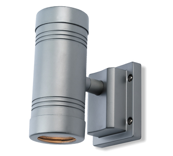 Firstlight Aero 2 Light Wall Light, Aluminium Finish - 5502AL