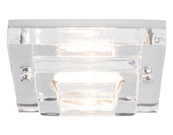 Astro Frascati Square Bathroom Downlight, Polished Chrome Finish - 5514