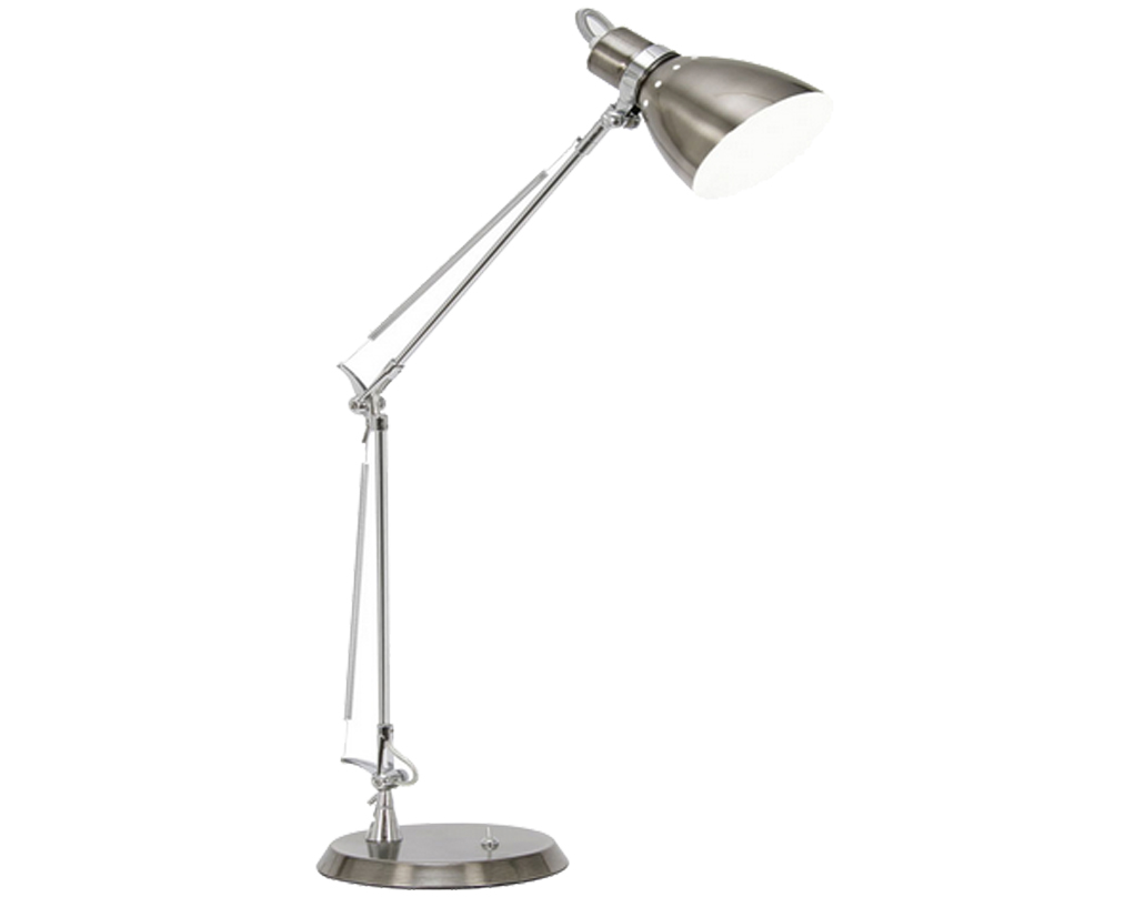 Oaks Lighting Ross Task Table Lamp, Antique Silver - 5556 TL AS