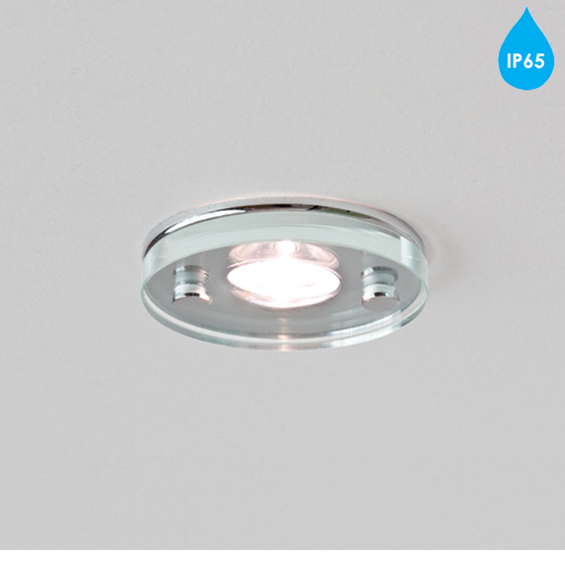 astro 39 ice led round 39 ip65 bathroom downlight polished. Black Bedroom Furniture Sets. Home Design Ideas