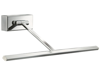 Searchlight T-Shaped  LED Picture Light, Chrome - 5586CC