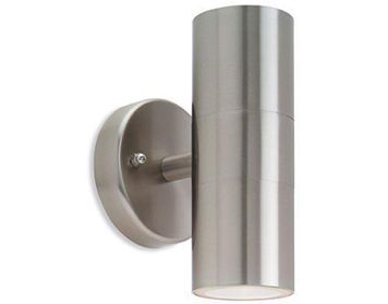 Firstlight Fusion 2 Light Wall Light, Stainless Steel Finish - 5615ST