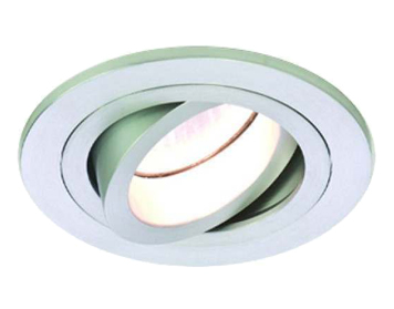 Astro Taro Round Adjustable Downlight, Brushed Aluminium Finish - 5637