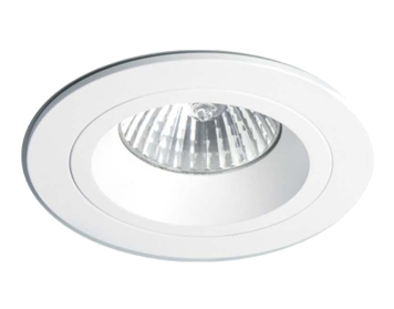 Astro Taro Round Fixed Downlight, Matt White Finish - 5639