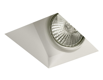 Astro Blanco 45 Recess Downlight, Plaster Finish - 5656