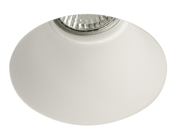 Astro Blanco Round Recess Downlight, Plaster Finish - 5657