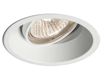 Astro Minima Round Adjustable Downlight, Matt White Finish - 5665